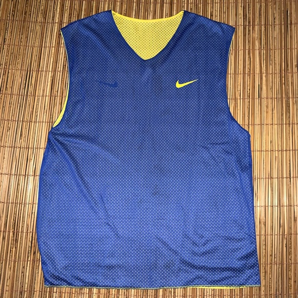 Nike Other - Vintage Nike Gym Scrimmage Tank Jersey Reversible